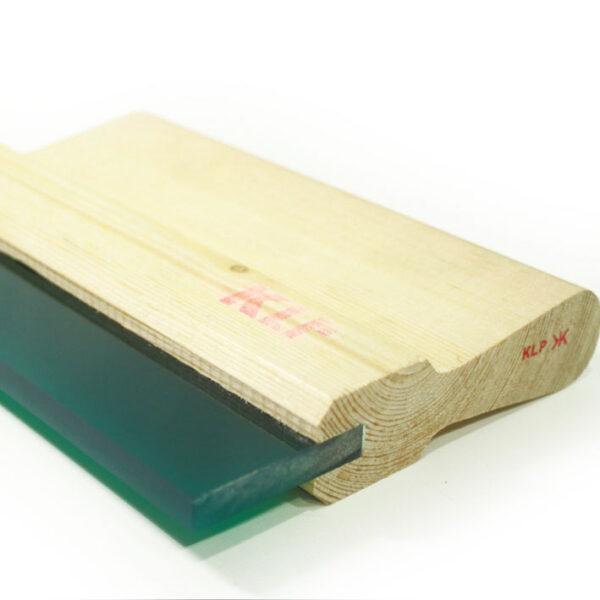 Rasero de madera para serigrafia