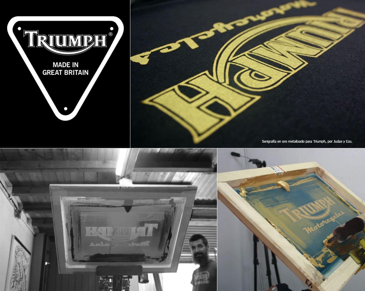Serigrafías Triumph Motorcycles