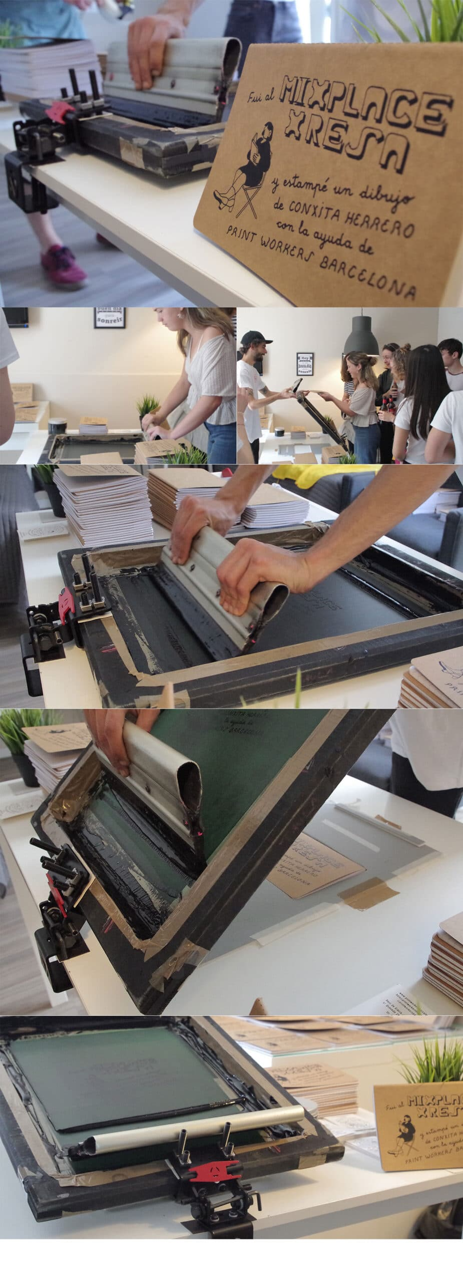 Workshop Print Workers Mixplace